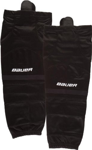 Bauer Premium Ice Hockey Socks Senior Size (Black, Small)