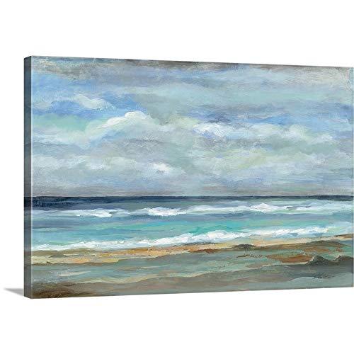 (Seashore Canvas Wall Art Print, 48