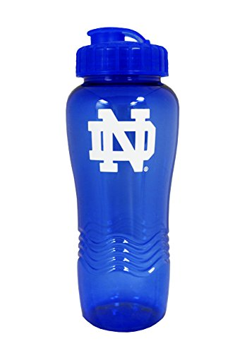 NCAA Notre Dame Fighting Irish 28oz Wave Water (University Logo Water Bottle)