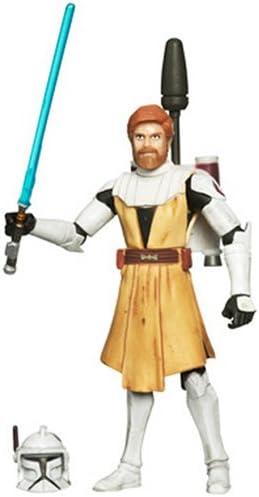 STAR Wars Il Clone Wars OBI-WAN KENOBI Figura Azione cw40