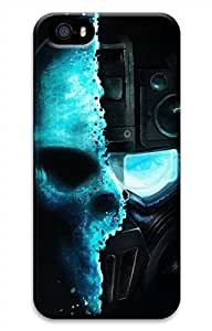 iPhone 5 5S Case Cool Skull Sniper Funny Lovely Best Cool Customize iPhone 5 Cover