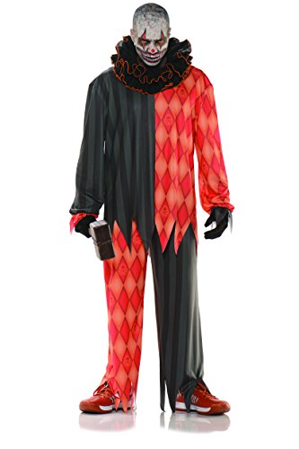 Underwraps Evil Halloween Clown Adult