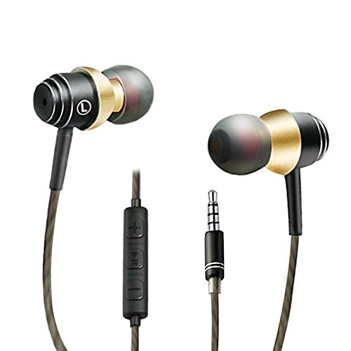 SUPNEW Earphones in Ear Headphones Earbuds with Microphone a