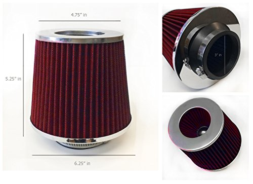 Inlet Intake Chrome Filter Universal product image