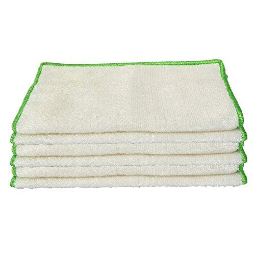 Dish Cloth Kitchen Cloth Dish Drying Washing Towels Bamboo Fiber High Absorbent Non-stick Oil 9.84