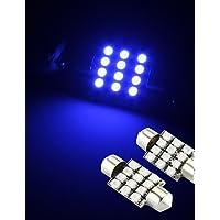 DZXGJ® 2 x 12 SMD LED azules adorno