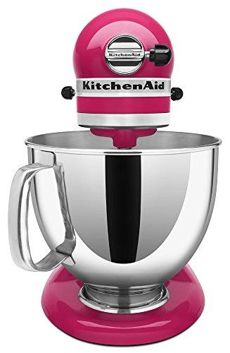 KitchenAid KSM150PSCB 5 Qt. Artisan Series with Pouring Shield - Cranberry