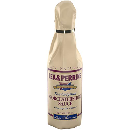 LEA & PERRINS Original Worcestershire Sauce 10 oz Bottle - ingredient for beef jerky