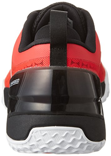 Low Homme Under de Noir Blanc Rouge Armour Charged Ultimate Chaussures UA TR Sport XwwqOzfR