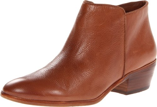 Sam Edelman Women's Petty Ankle Bootie, Saddle Leather, 5.5 M US