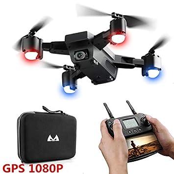OSB STYLE Cámara Profesional Drone Doble 1080P GPS Quadcopter FPV ...