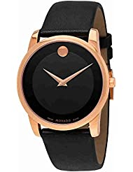 Movado  Mens Classic Museum - 0607078 Rose Gold One Size