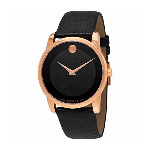 Movado  Men's Classic Museum - 0607078 Rose Gold One Size Movado Classic Museum