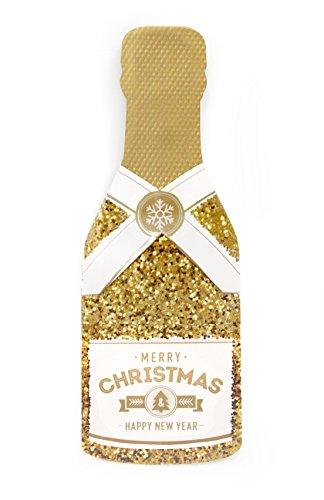Boston International MDC16951 My Design Co. Merry Christmas Champagne Cracker Card, - Vouchers My Amazon