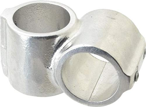 1-1//2 Inch Pipe 2 Pack Short Barrel Crossover Aluminum Alloy Pipe Rail Fitting Hollaender