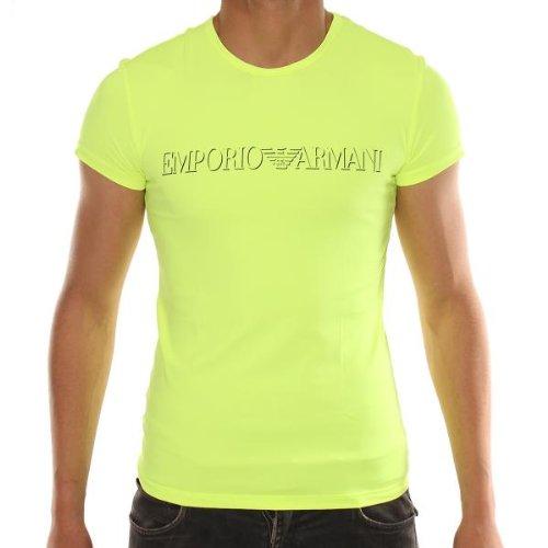 Emporio Armani Camiseta 210434 Naranja 46: Amazon.es: Ropa y ...