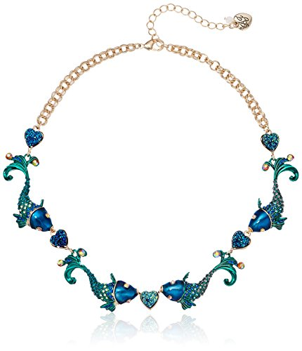Betsey Johnson Fish Collar Necklace