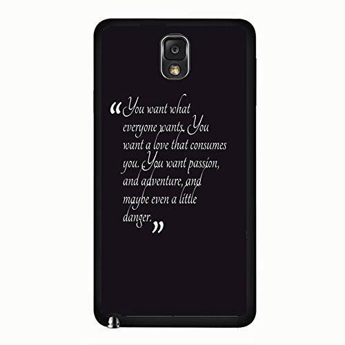 Samsung Galaxy Note 3 N9005 Vampire Bloody Cover Shell Stylish Simples Quotes Design Fantasy TV Show The Vampire Diaries Phone Case Cover for Samsung Galaxy Note 3 N9005