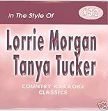 LORRIE MORGAN & TANYA TUCKER Country Karaoke Classics CDG Music CD