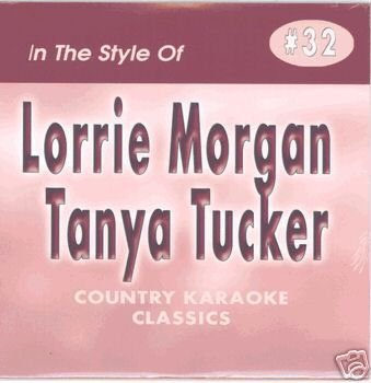 LORRIE MORGAN & TANYA TUCKER Country Karaoke Classics CDG Music CD ()