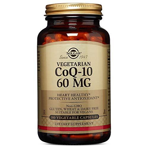 Solgar - Vegetarian CoQ-10 60mg, 180 Vegetable Capsules