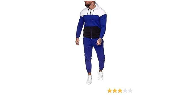 Mens 2 Piece Set Tracksuit Camouflage Sweatshirt Jogger Sweatpants Jogging Suits Sweatsuit