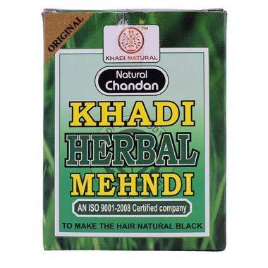 Khadi Natural Herbal Black Mehndi, 100 Gm (Set of 2)