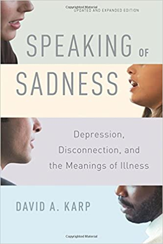 Book Speaking of Sadness