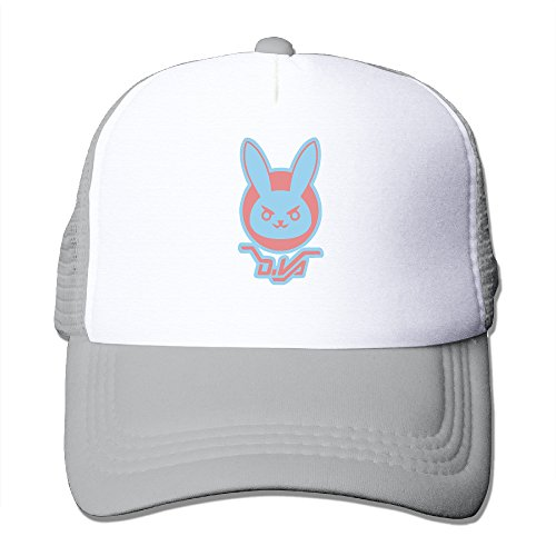 ACMIRAN DVA LOGO Over First-person Shooter Video Game Watch Personalize Trucker Hat One Size (Helium Buffalo)
