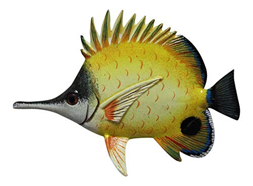 Long Nose Butterfly Tropical Fish Nursery Wall Decor 6 inch -