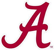 NCAA Siskiyou Sports Fan Shop Alabama Crimson Tide Logo Magnets 8 inch Sheet Team Color