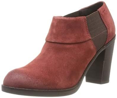 Geox D Glimmer A - Botas de Cuero Mujer: Amazon.es: Zapatos y complementos