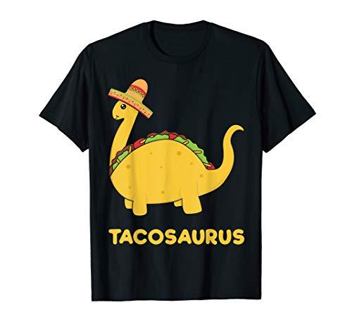 Cool Cinco de Mayo Tacosaurus Shirt Funny Gift Taco Dinosaur ()