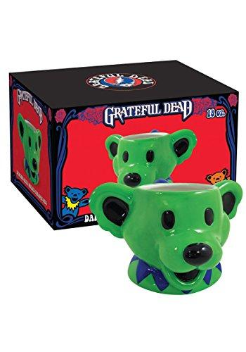 Grateful Dead Dancing Bear 18 oz Molded Mug Standard