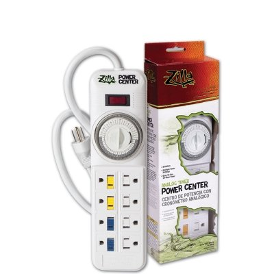 Reptile & Exotics Supplies Rzilla Pwr Ctr Analog 1875W by Energy Savers