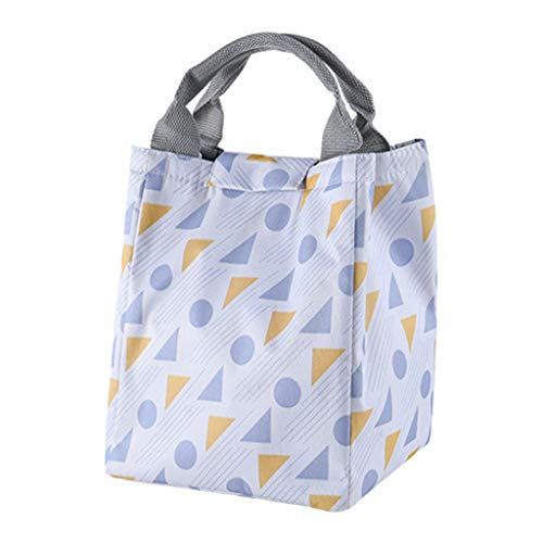 (CreazriseFashion New Portable Waterproof Thickness Picnic School Lunch Bag Office)