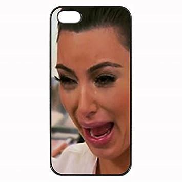 Kim Kardashian Crying Hilarious Face Unipue Custom: Amazon co uk