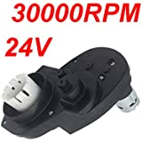 NSD 24V 30000RPM Gearbox for Power Wheels Large Axle Hole, RS550 24 Volt Electric Motor for Dune Race Ford Raptor F150…