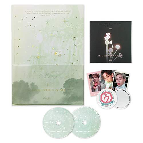 GOT7 Album - PRESENT : YOU & ME EDITION [ Forever ver. ] 2CD + Photobook + Lyrics Booklet + Photocards + OFFICIAL GOT7 CALENDAR + FOLDED POSTER + FREE GIFT