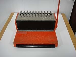 IBICO KOMBO Heavy Duty Plastic Comb Punch Binding Machine ...