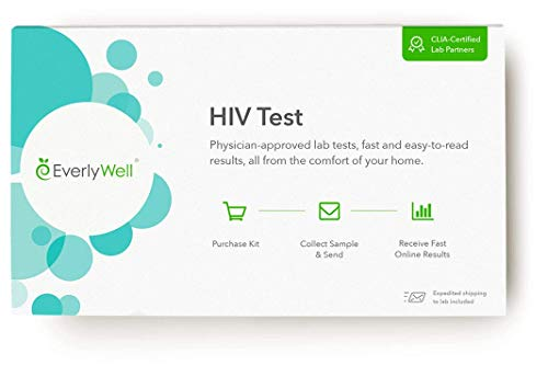 EverlyWell - at-Home HIV Test - Discreetly Test for HIV (Not Available in NY