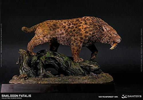 DamToys Estatua Smilodon Fatalis Wet Rainforest Ver. 28 cm ...