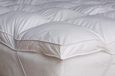 "Home Sweet Home Dreams Thick Hypoallergenic Down Alternative Bed Mattress Topper,2"" H"
