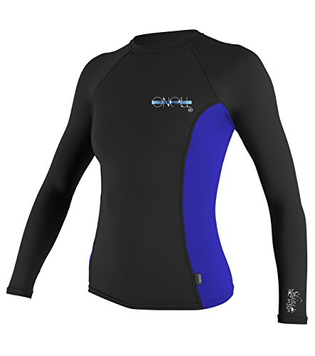 O'Neill Wetsuits UV Sun Protection Womens Skins Long Sleeve Crew Sun Shirt Rash Guard
