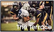 SAMSUNG 55-inch Class QLED The Terrace Outdoor TV - 4K UHD Direct Full Array 16X Quantum HDR 32X Smart TV with