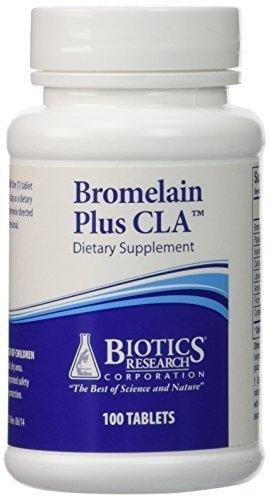Biotics Research – Bromelain Plus CLA 100T by Biotics Review