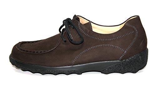 Ganter , Chaussures de ville à lacets pour femme Marron Moro 36.5