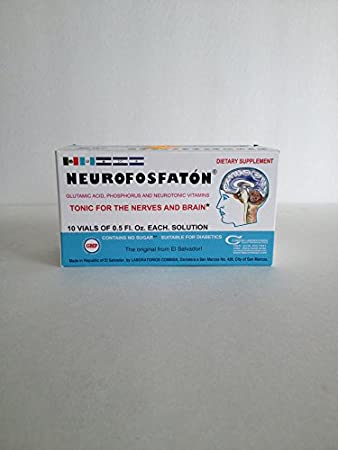 Neurofosfaton 10 Vials 15ml - Tonic for the Nerves and Brain (Vitamina)