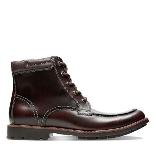 5 Homme Shoes High Eu Brown 41 Clarks Curington Dark Leather ZfFwOq8fx