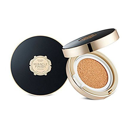 The Face Shop Miracle Finish CC Cooling Cushion SPF50+ PA+++ (V203 Natural - Miracle Shop